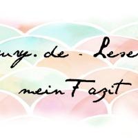 Lesejury - Leserunde - mein Fazit